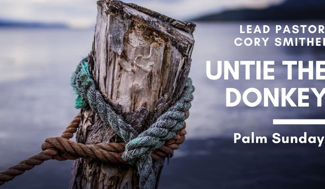 Palm Sunday: Untie The Donkey