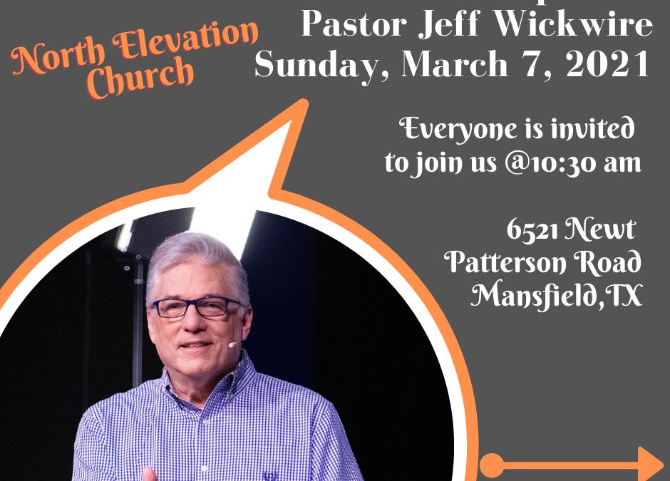 Guest Speaker – Jeff Wickwire